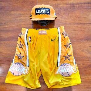 Nike Dr. Buss LA Lakers Premium 🏀 Shorts sz Med